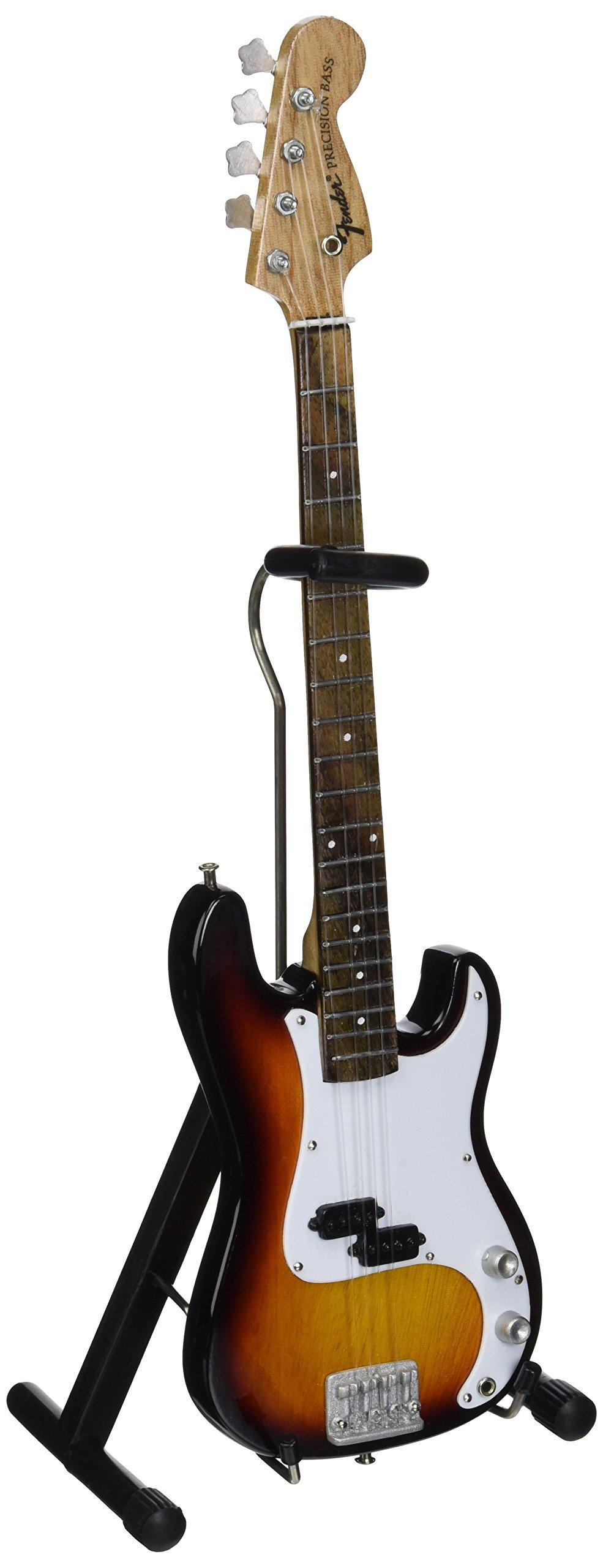 Axe Heaven FP-001 Fender Precision Bass Sunburst Miniature Guitar Replica