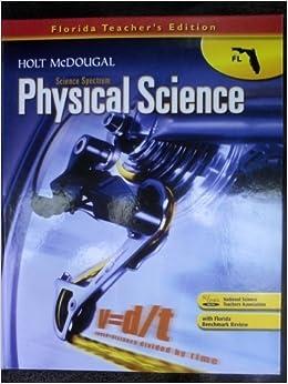 Holt McDougal Science Spectrum Physical Science Fl Teacher