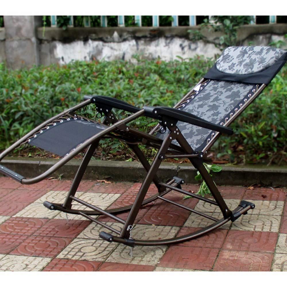 HPLL kontorsstol gungstol vuxen vilstol balkong gungstol lat människor stol äldre stol hem gunga korg stol fritid lunchpaus stol svängbar stol (färg: Stil 3) stil 9