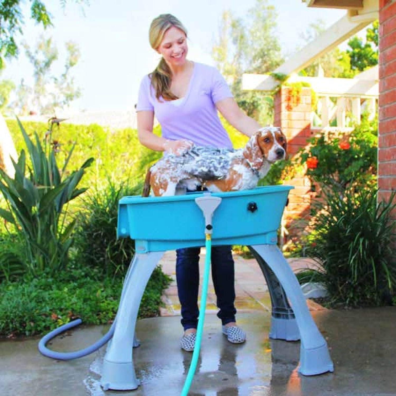 Generic Non-Slip Legs Pet Grooming ing Washing Statio Dog Booster Bath Dog Booster Washing Station Groomin Medium Outdoor oster Tub Non-Slip Legs