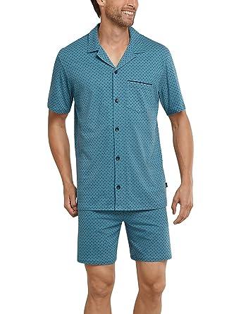 Kurz Pyjama Schlafanzughose Herren Schiesser Bekleidung UTtqaWP