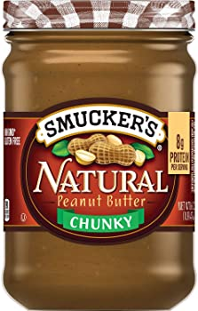 Smucker's Natural Chunky Peanut Butter, 16 Ounces