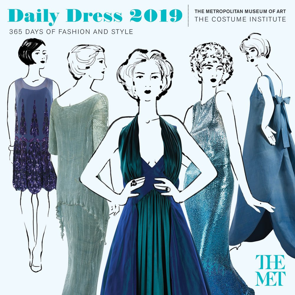 Daily Dress 2018 Wall Calendar