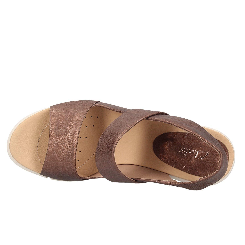 Clarks Bronze Sandalen 26131271 IMALI Jasmin Bronze Clarks dfced4