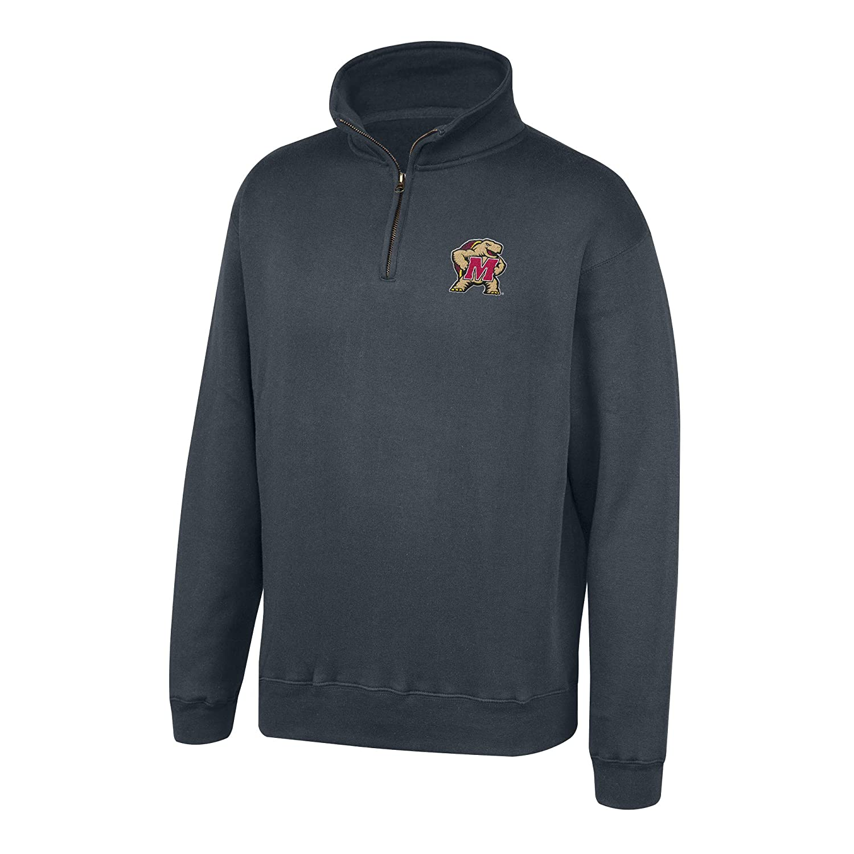 Top of the World Mens Dark Heather Classic Quarter Zip Pullover