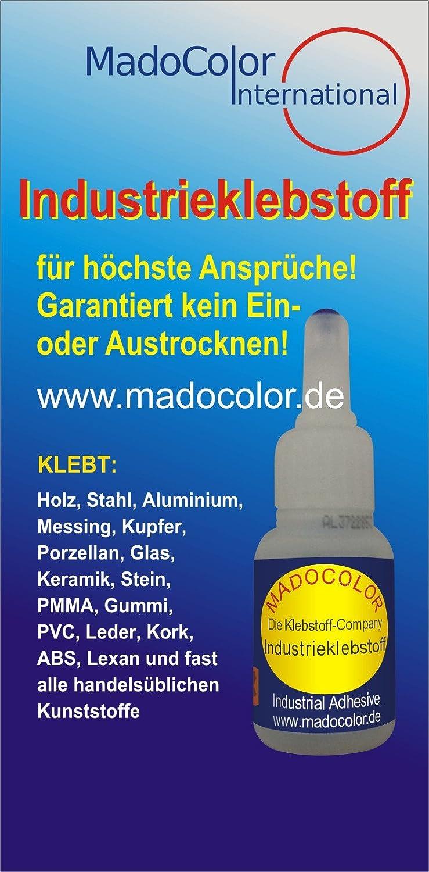 Madocolor Industrieklebstoff Klebstoff Super Kleber Alleskleber