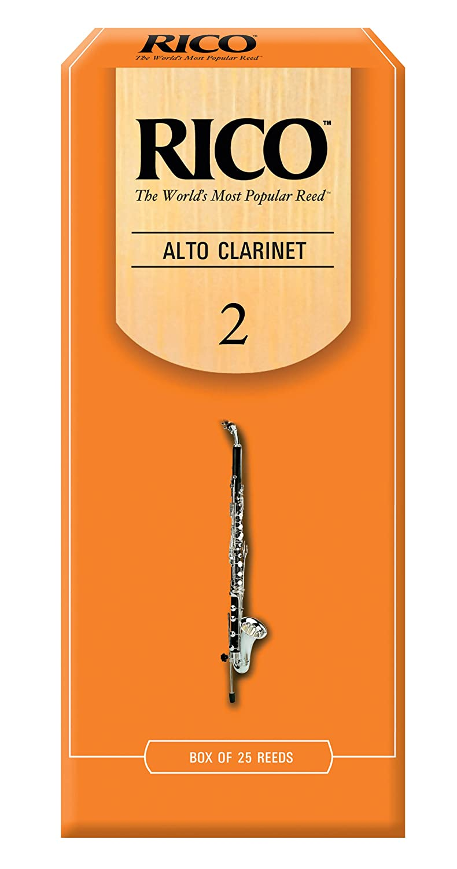 Rico Alto Clarinet Reeds, Strength 2.0, 3-pack RDA0320