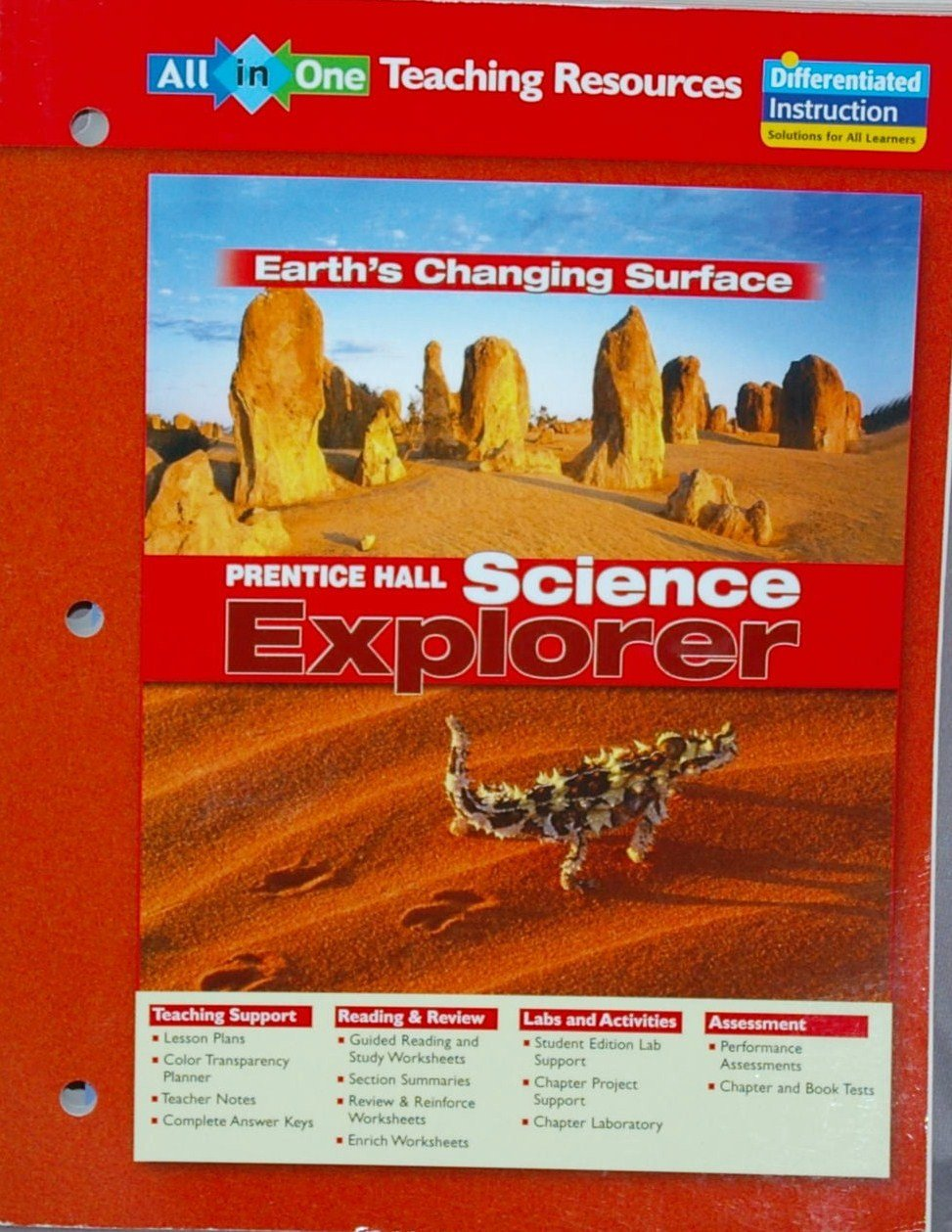 Science Explorer: Earth's Changing Surface All-in-One Teaching ...
