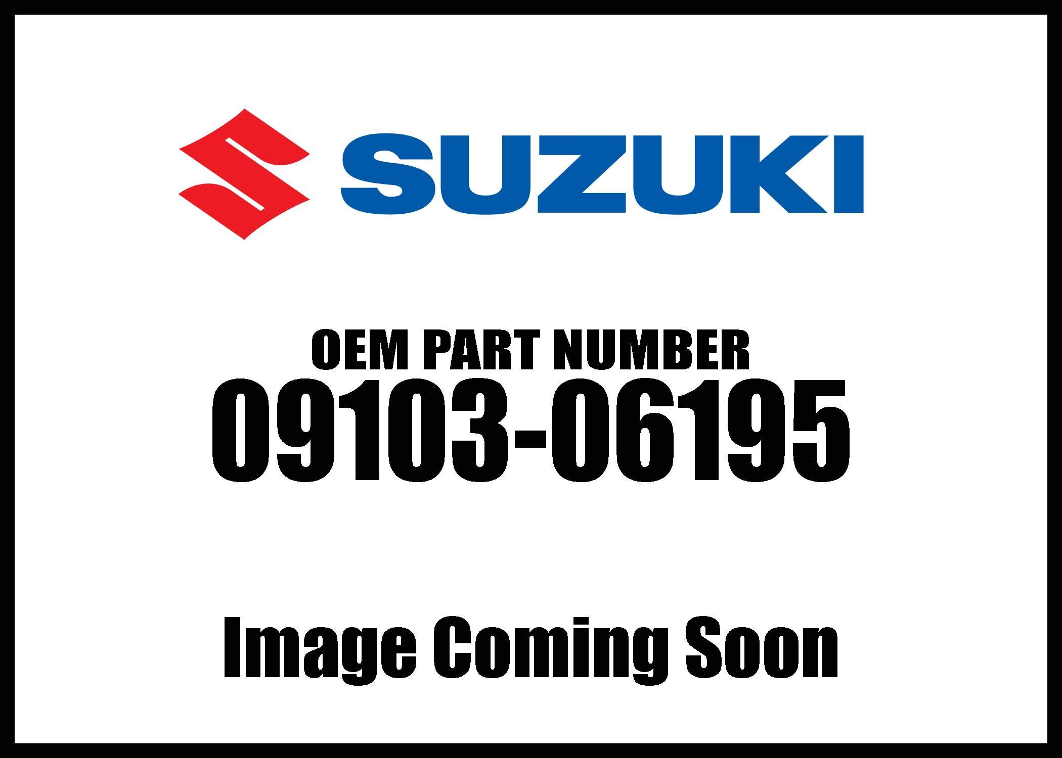 Suzuki 2007-2011 Kingquad 750 Axi 4X4 Bolt Oil Filter 09103-06195 New Oem