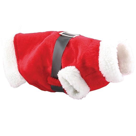 Christmas Shop - Traje de Papá Noel para perro (Talla Única ...