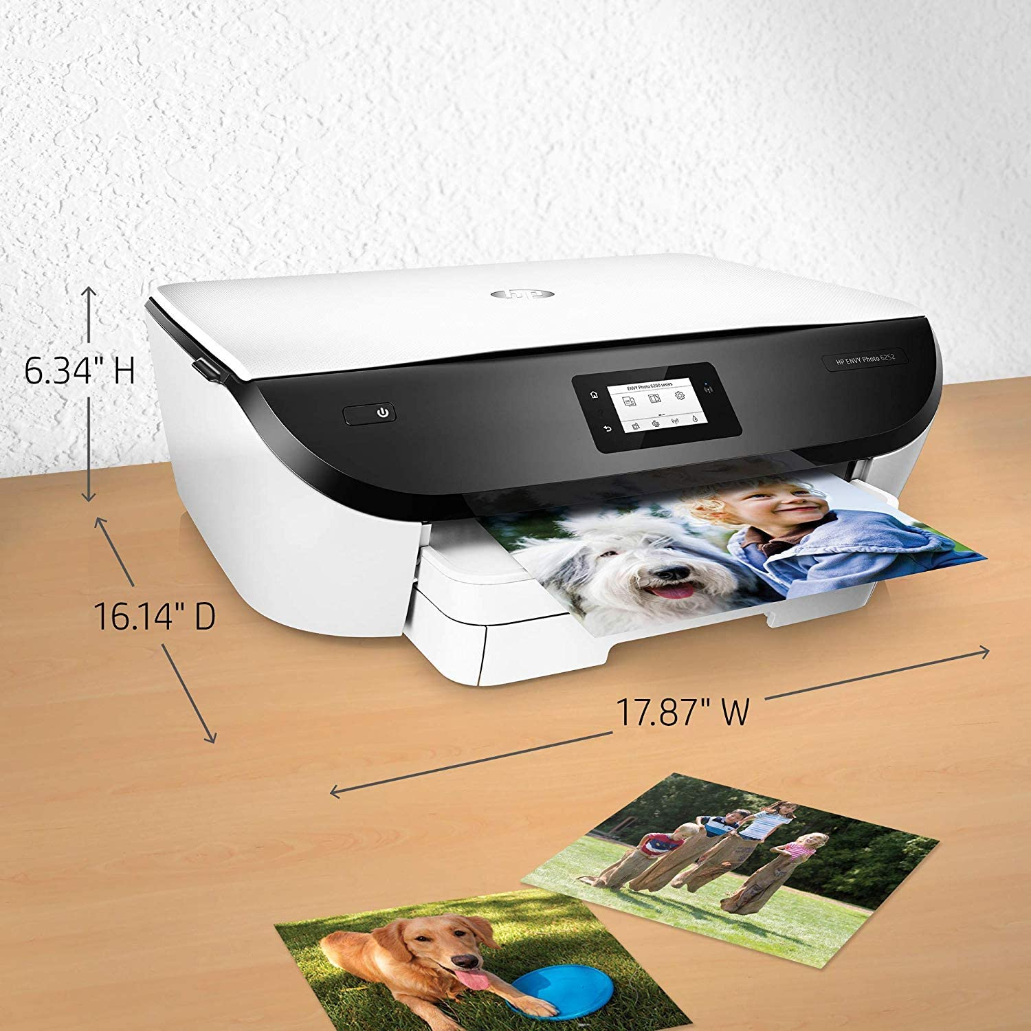 K7G22A HP Envy Photo 6252 All-in-One Photo Printer with Wireless Printing Instant Ink Ready