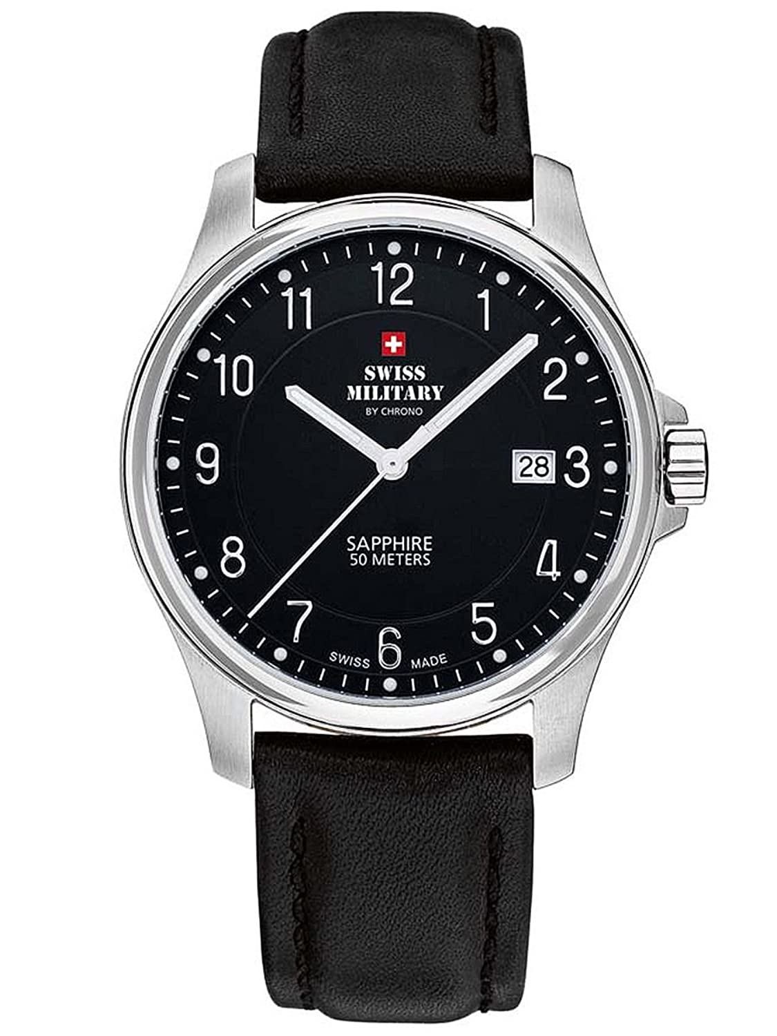 SWISS MILITARY BY CHRONO HERRENUHR