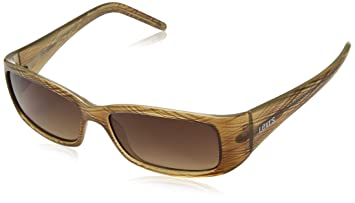 Levi gafas de sol marrón rayas envoltorio de plástico 130 - 01 ...