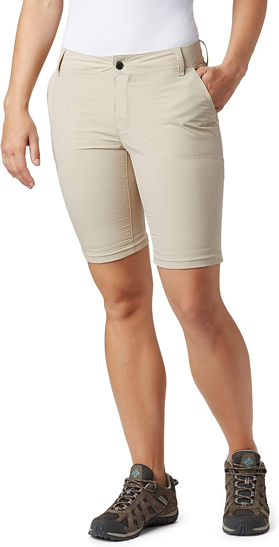 Beige Columbia Silver Ridge 2.0 Pantalones de Senderismo Convertibles para Mujer Tusk 8//S