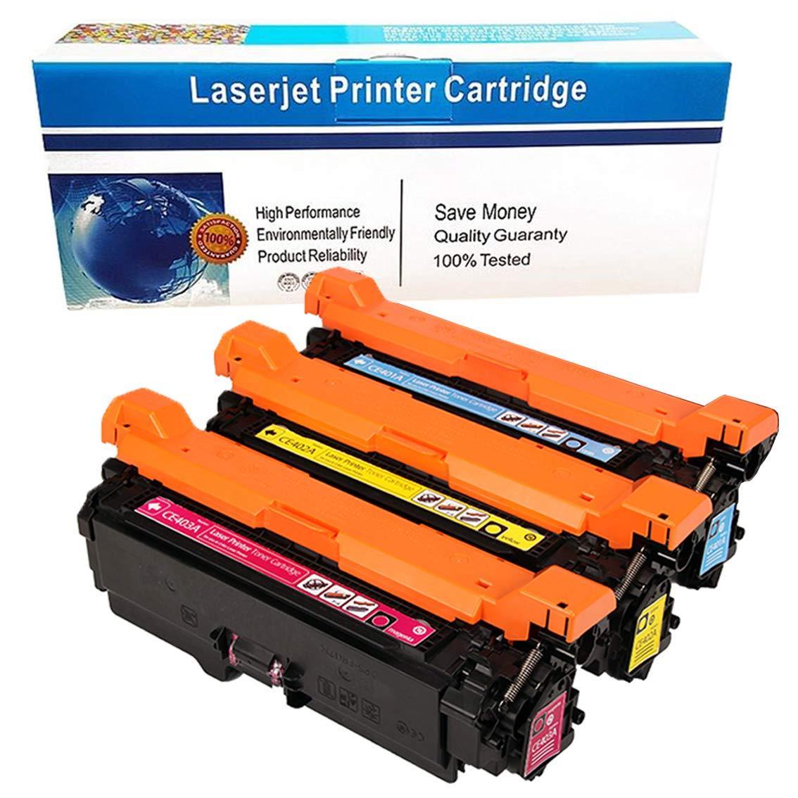 3A Toner For HP 507A LaserJet Enterprise 500 Color M551dn MFP M575F 10PK CE400A