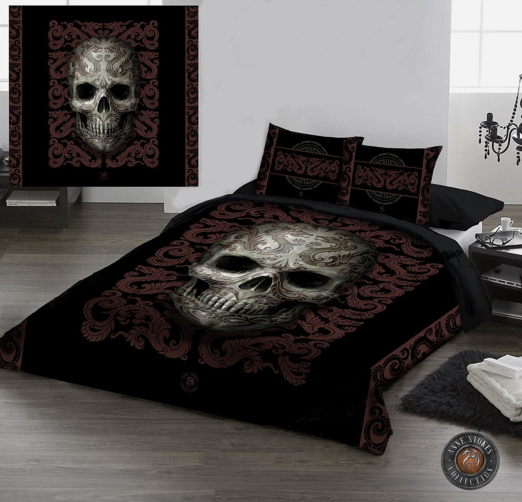 Beddings Awesome Skulls
