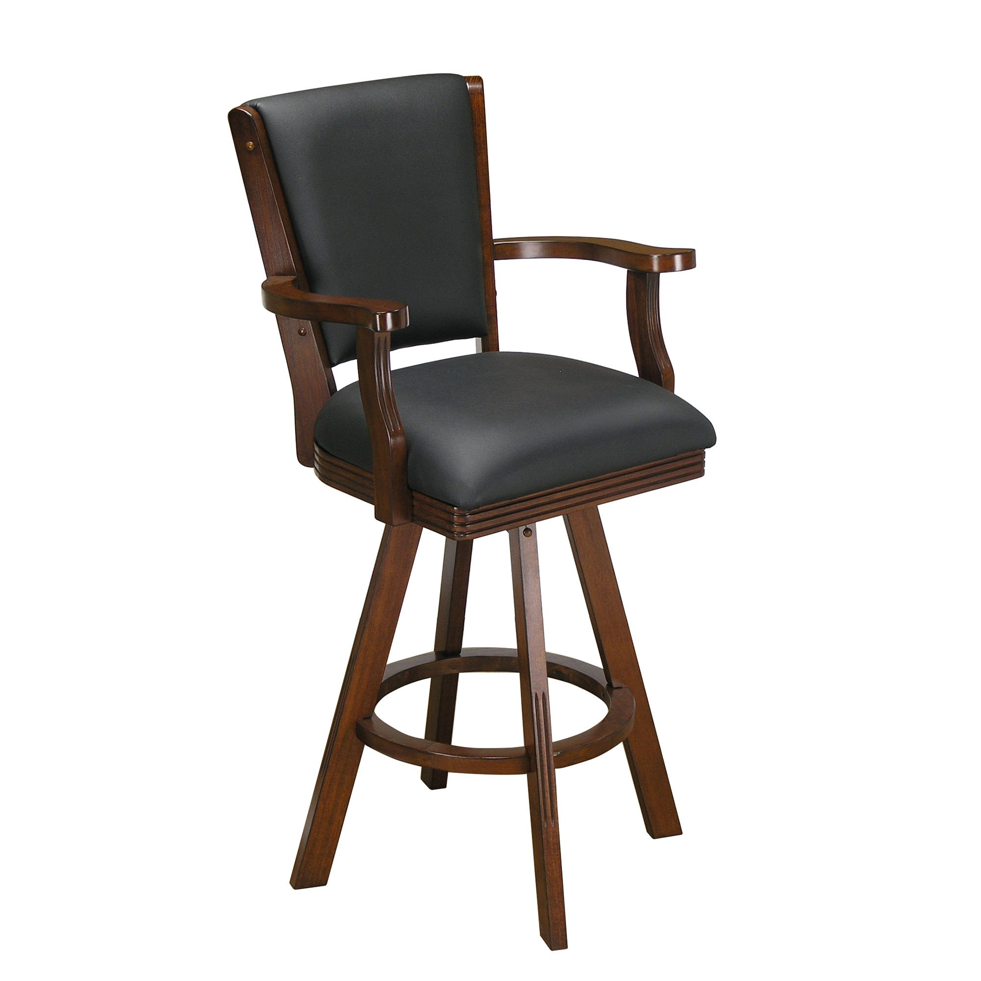 Signature Barstool for the Game Room (Chestnut)