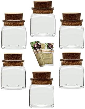 Rangement Et Organisation Cuisine Maison 12 Pot En Verre 120 Ml