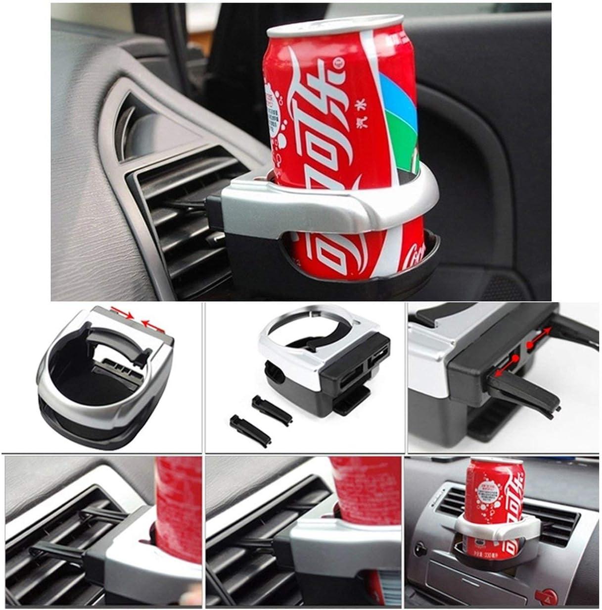 Biyi Auto air Outlet Fahrzeug montiert getr/änkehalter Wasser getr/änkehalter Regal trinkbecher Halter Halterung innen Organizer schwarz