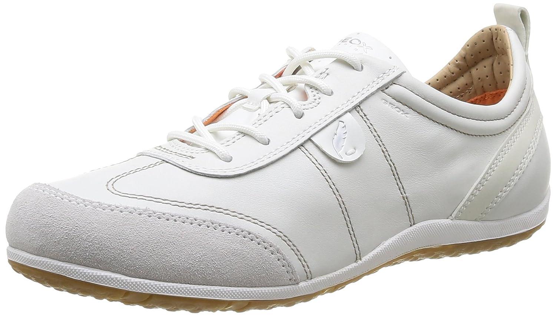 GEOX D Vega Scarpa Tecnica da donna Bianco WHITE/OFF WHITEC1352 35