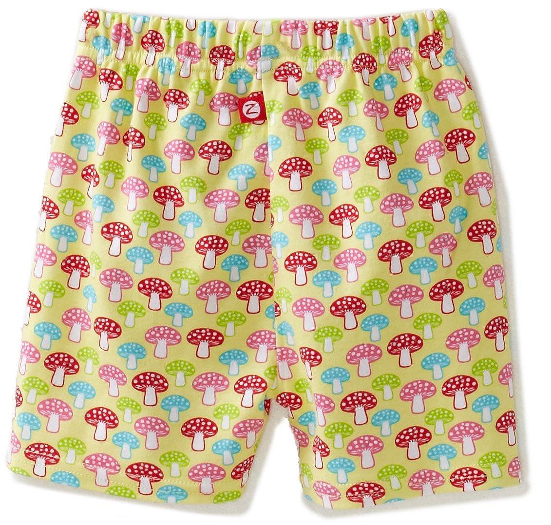 Zutano Baby Girls Mushrooms Short