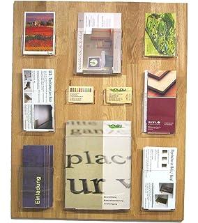 Hochformat Linlay Intarsien Gravuren Visitenkartenhalter