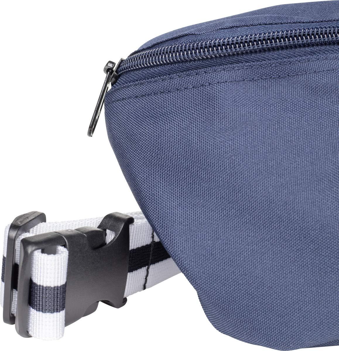 Urban Classics Hip Bag Striped Belt Bolso Bandolera Blk//Yellow 24 cm,