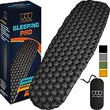 Gold Armour - Almohadilla de dormir para camping, (extragrande), ultraligera de 490 g, las mejores almohadillas para dormir p