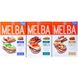 Old London - Melba Toast - Classic, Wheat, Sesame -VARIETY Pack -5 ounce (Pack of 3)