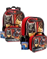 Batman Vs. Superman Backpack and Lunch Tote Set
