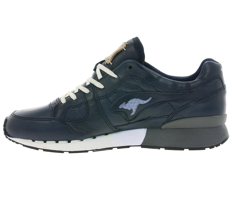 KangaROOS 47051 Coil R1 Lea Schuhe Herren Echtleder Sneaker