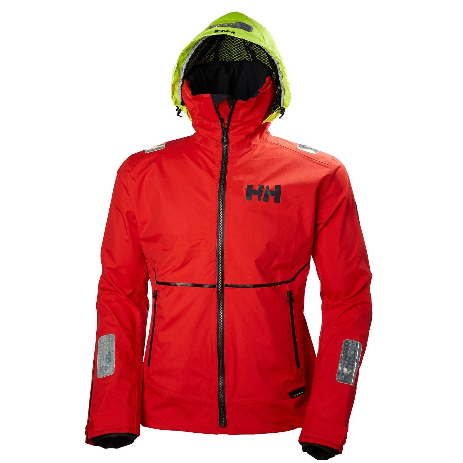 Helly Hansen 33876 Men's HP Foil Jacket, Alert Red - XL