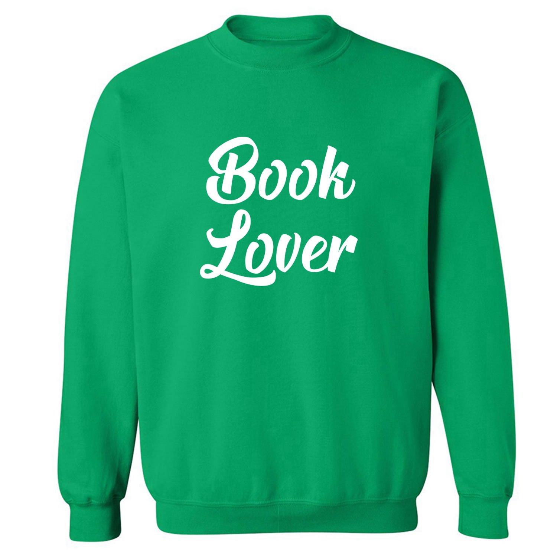 ZeroGravitee Book Lover Crewneck Sweatshirt PA-3208-CR