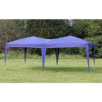 Amazon Palm Springs 10 X 20 EZ POP UP BLUE Canopy New Gazebo