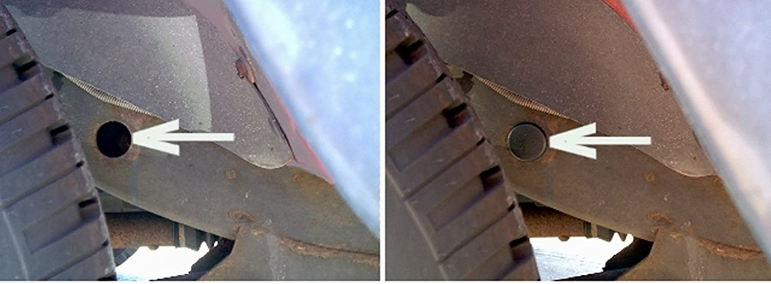 Jeep Wrangler TJ Frame Hole Cover Plugs keep out mud for all 1997 through 2006 Models Upper Bound
