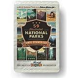 59-Piece Deluxe National Parks Sticker Set