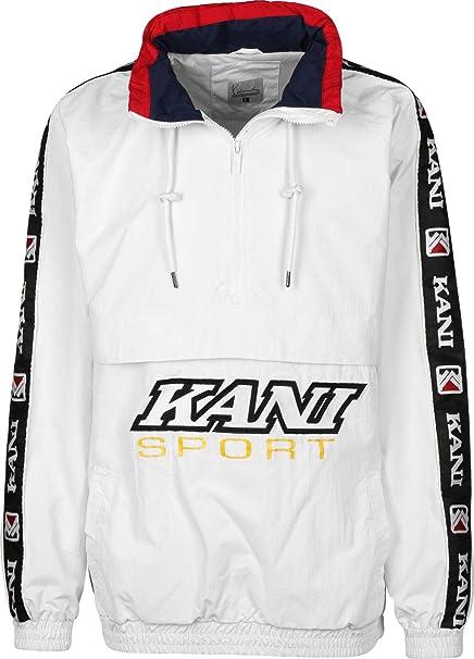 Karl Kani Sport Chaqueta Cortavientos White: Amazon.es: Ropa ...
