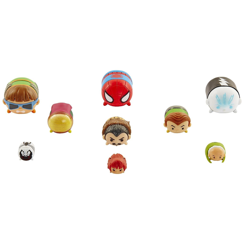 Marvel Tsum Tsum 9 PacK Figures Series 2 Style #1 Jakks 05561