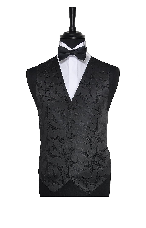 Black leaf Waistcoat 42