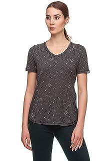 Ragwear T-Shirt Damen MINNISOTA 1821-10006 Grün Green 5023