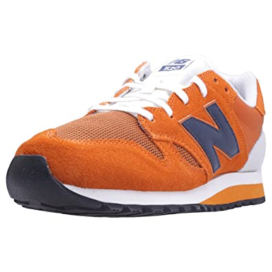 new balance mens orange trainers