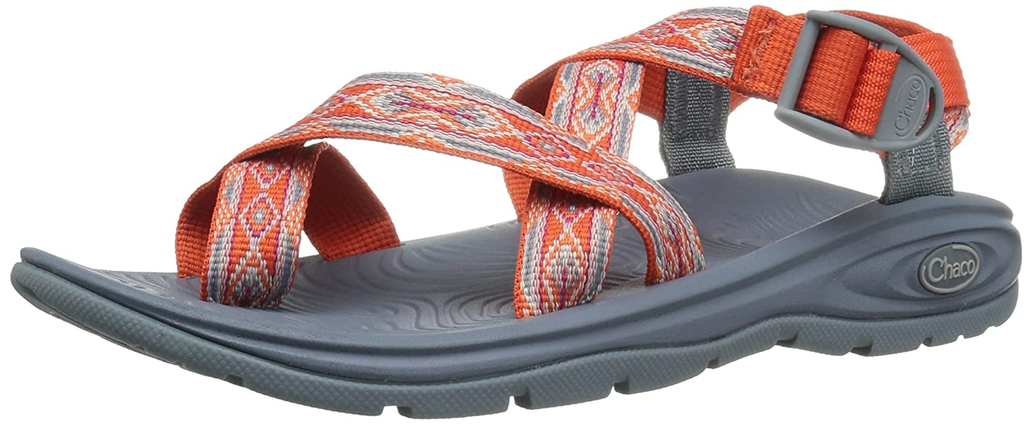 Chaco Women's Zvolv 2 Athletic Sandal B01H4XD4PS 5 B(M) US|Tangerine Tango