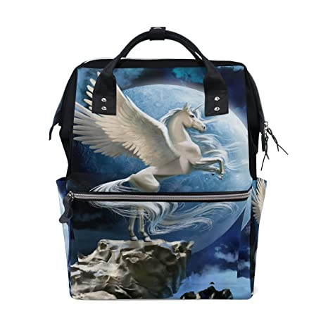 Amazon com: JSTEL Laptop College Bags Student Travel Pegasus