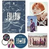 FOLLOW-FIND YOU [ II ver. ] - MONSTA X 7th Mini Album CD + Photobook + Mini Poster + Lyrics + Photocard + Photostand…