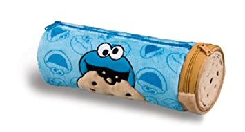 NICI 41981 Material de Peluche de 100% poliéster Forro Interior: Nylon Sesam Calle LandLeder Monstruo, 22 x 8 cm, Color Azul