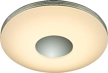 30 Watt LED Decken Lampe Dimmer Wohnraum Sternen Leuchte schaltbar quadratisch
