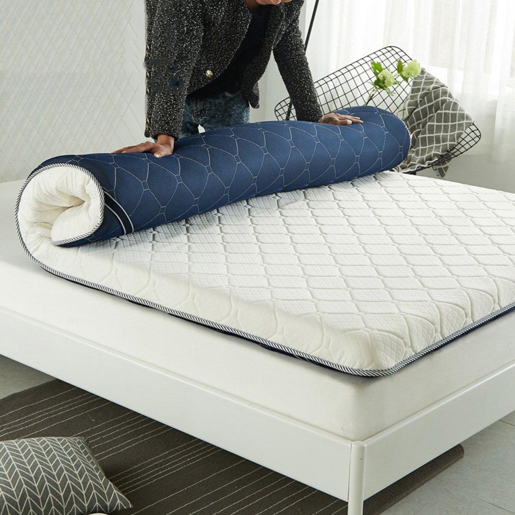 HYXL Thicken Tatami floor mattress,Thick non-slip mattress Durable Soft Bed tatami mat Japanese traditional futon mattress pad-B 150x190cm(59x75inch)