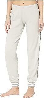 product image for Hard Tail OG Sparkle Racer Stripe Pull-On Sweatpants Concrete LG