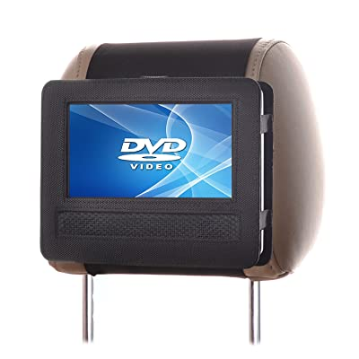 Car Headrest Mount for Swivel & Flip Style Portable DVD Player-7 Inch: Car Electronics