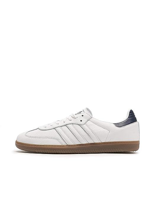 adidas Samba oG Schuhe Herren weiß mit schwarz